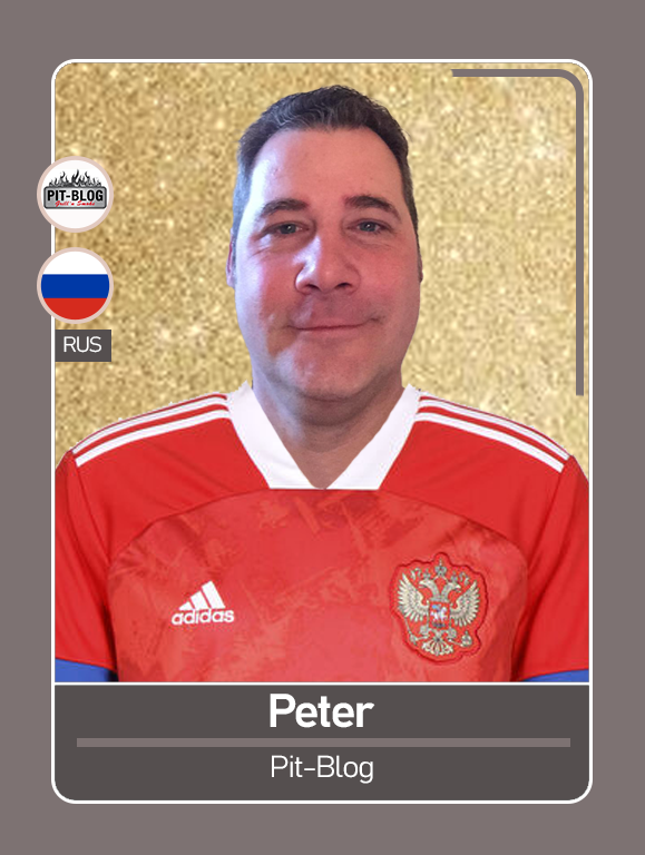 Pit Blog - Peter