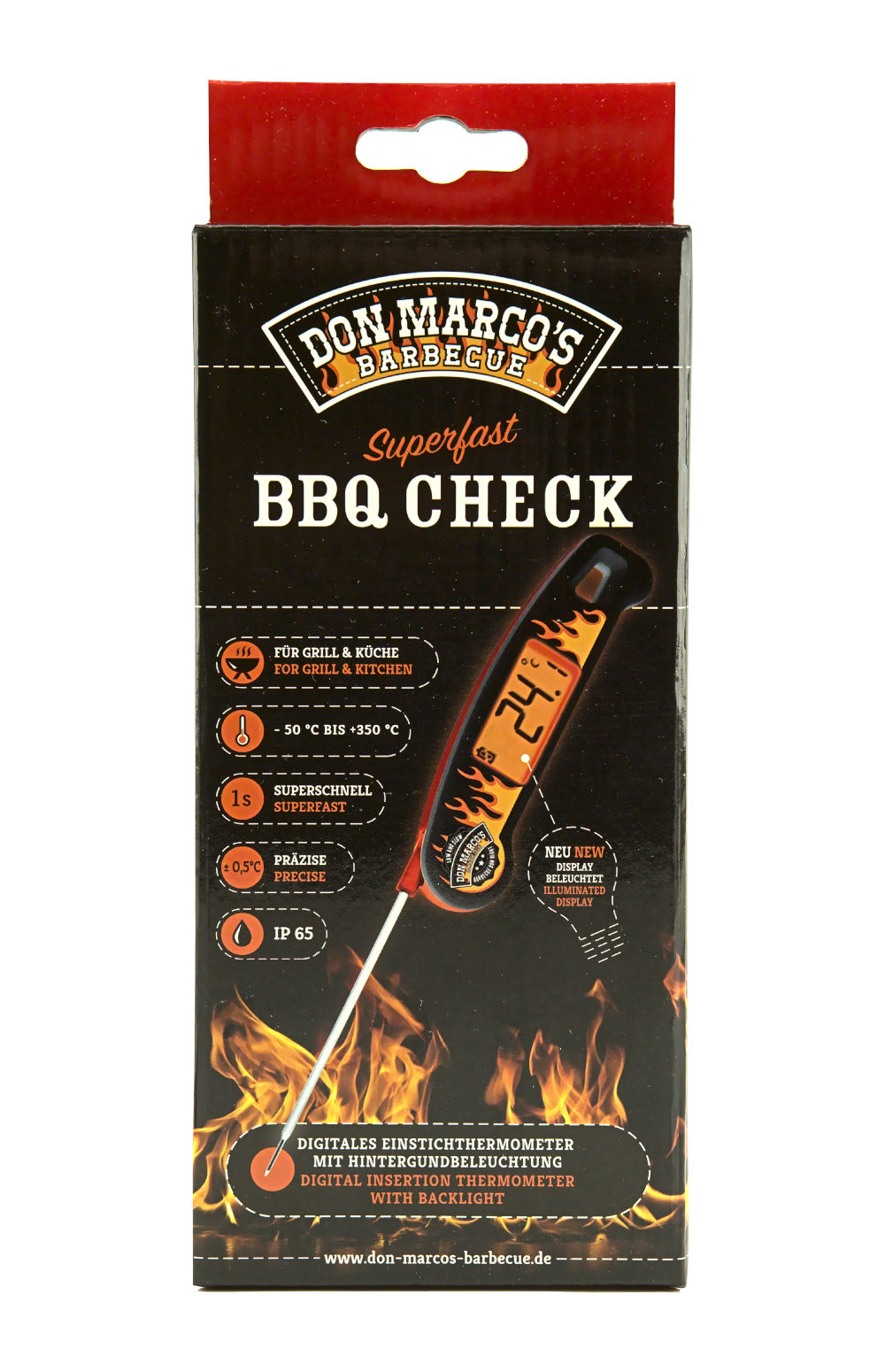 Don Marco's Barbecue Thermometer BBQ Check 2.0