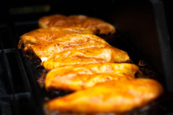 chicken fajita grillen