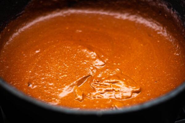 Mexikanische Mole Sauce