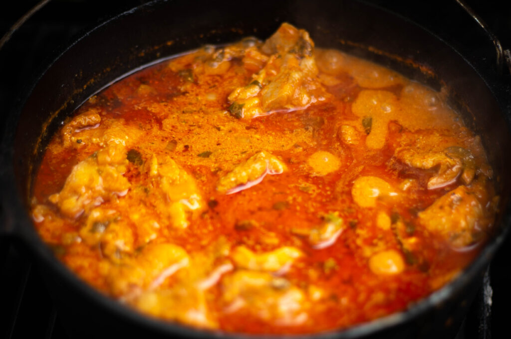Chicken Paprikash - Dutch Oven