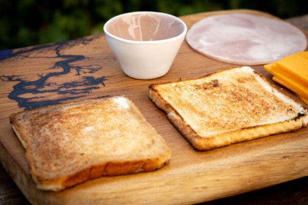 Toast toasten