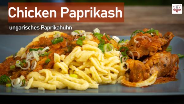 chicken paprikash ungarisches paprikahuhn