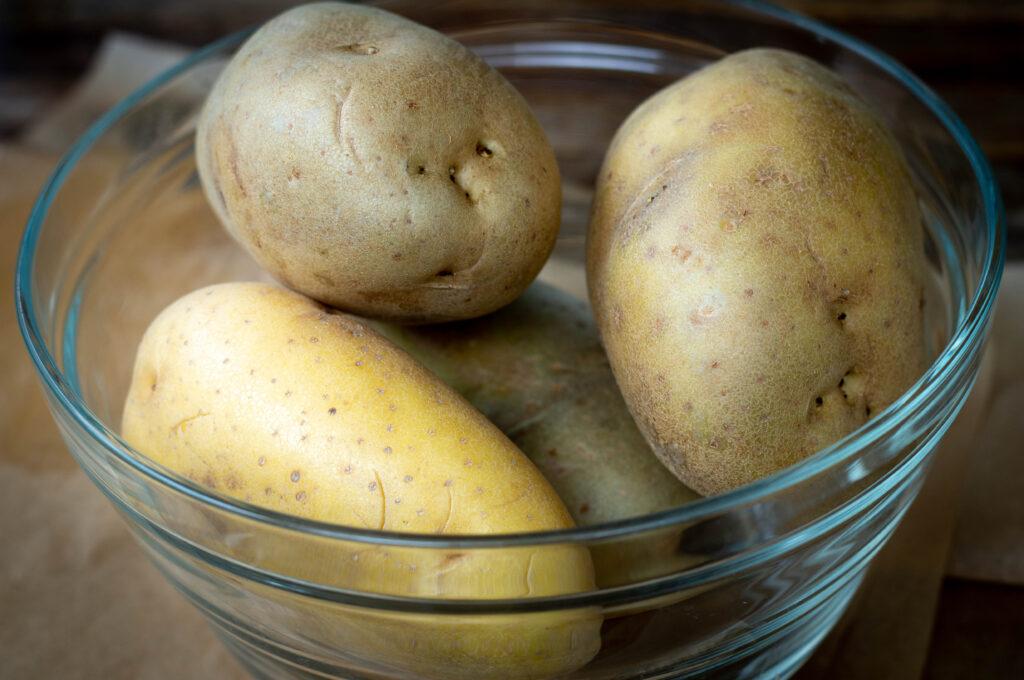 Mehligkochende Kartoffeln