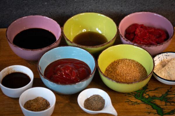 BBQ Sauce - Zutaten