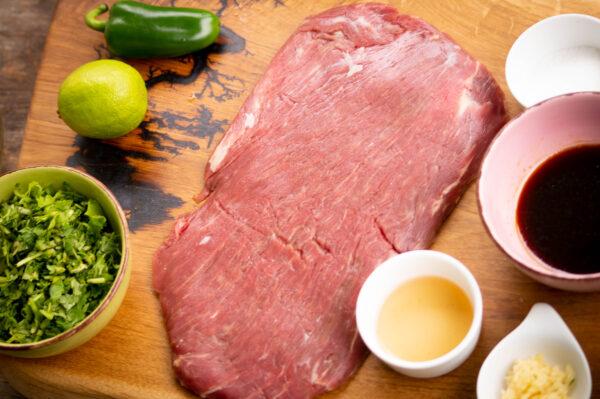 Flank Steak Marinieren