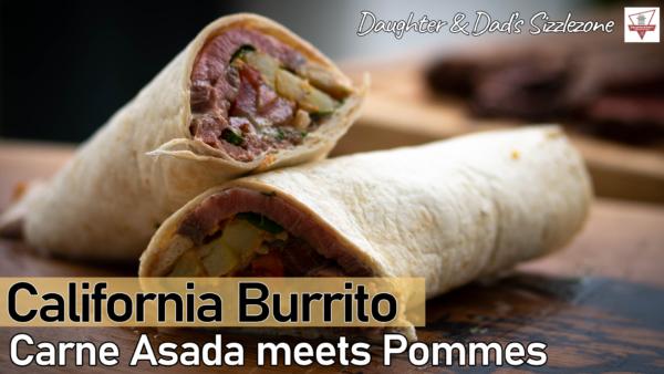 California Burrito - Carne Assada meets Pommes