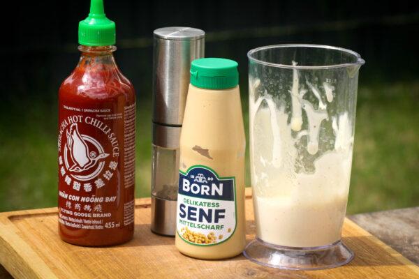 Sriracha Mayonnaise Zutaten