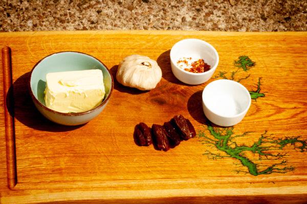 Black Garlic Butter - Zutaten