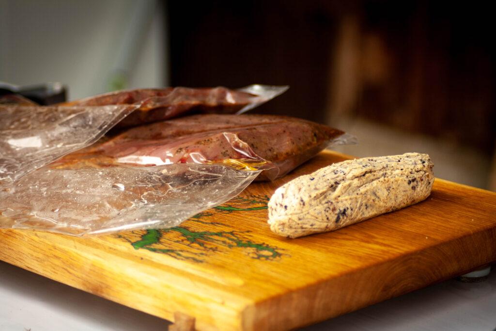 Straußen Steak Sous Vide
