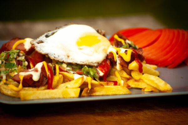 Salchipapa - Streetfood